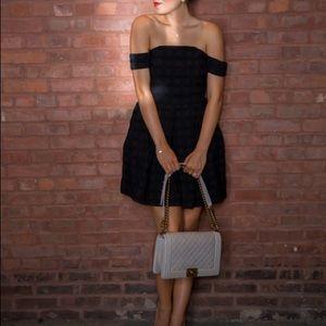 ASOS Little Black Dress, off the shoulder size 4